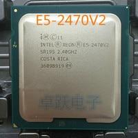 Die beste LGA1356 Intel Xeon E5-2470V2 CPU E5-2470 V2 2,40 GHz 10-Core 25MB E5 2470V2 prozessor