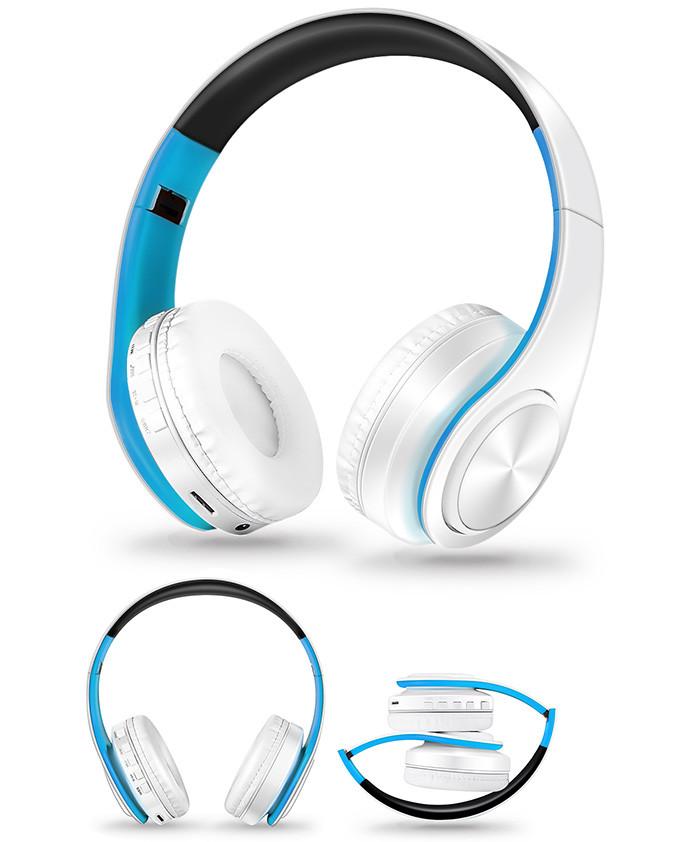 Słuchawki Bluetooth Headset słuchawki Bezprzewodowe Słuchawki Stereo Składany Sport Słuchawki Mikrofon słuchawki Tryb Głośnomówiący odtwarzacz MP3 11