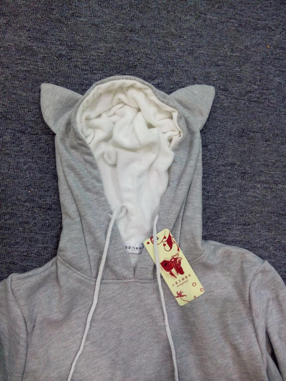 Cat lovers bluzy z cuddle etui dog pet bluzy dla kangura dorywczo swetry z uszy bluza 4xl drop shipping 22