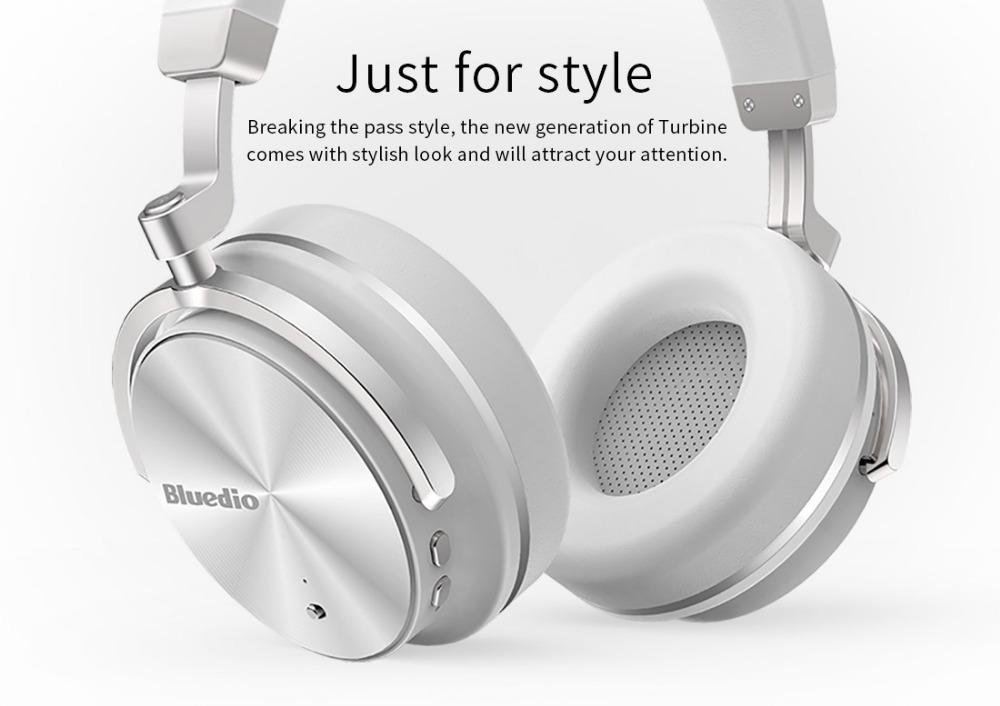 T4 bluedio aktywny hałasu anulowanie słuchawki bezprzewodowe bluetooth bezprzewodowy zestaw słuchawkowy z mikrofonem 3