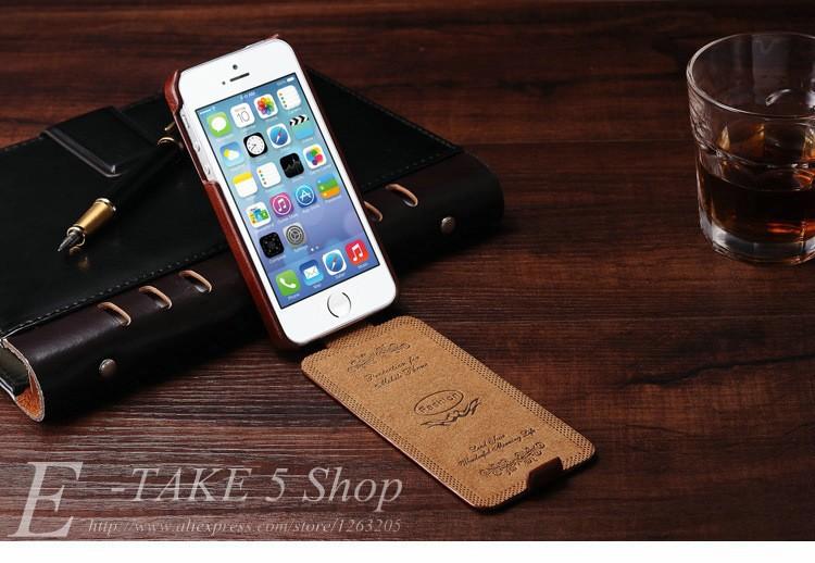 5S flip case dla iphone 5s 5 se pu skóra tomkas marki luksusowe phone tylna pokrywa coque dla apple iphone5 przypadki telefon 5 s torba 4