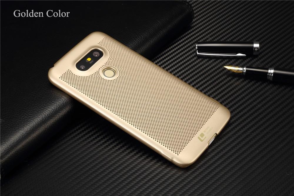 Luksusowa marka ultra thin Nowy siatka powrót pokrywy skrzynka dla LG przypadkach i pokrowce na g5 G5 oryginalne akcesoria 4
