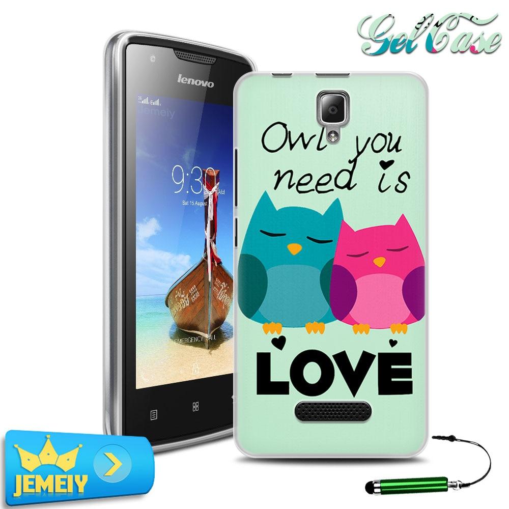 Colorfull miękki gel case pokrywa dla lenovo a1000 a5000 a2010 s60 s90 p1 p70 k3 k4 uwaga/vibe s1 p1m x3 lite moblie telefon hartowane 2