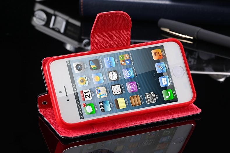Kisscase dla iphone 4s przypadki nowy hit kolor skóry ultra odwróć case dla iphone 4 4s 4g wizytownik stań pokrywy torby telefon komórkowy 19