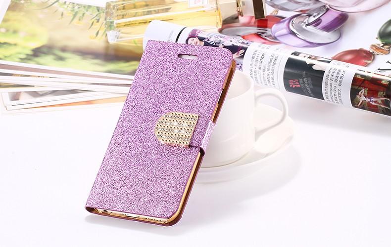 Kisscase dla iphone 5s case glitter bling skórzane etui dla iphone 5 5s se 6 6 s 7 plus stań portfel pokrywa dla iphone 7 7 plus SE 22