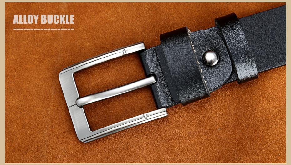 [Miluota] pasy designer mężczyźni wysokiej jakości prawdziwy skórzany pas dla mężczyzn luksusowe ceinture homme military style 130 cm mu012 28