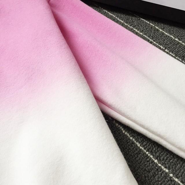 2016 Nowa Wiosna Jesień Harajuku Bluzy Polarowe Grube Kolor Gradientu Luźne Dorywczo Bluza Kobiety Bluzy Dres Moletom 8