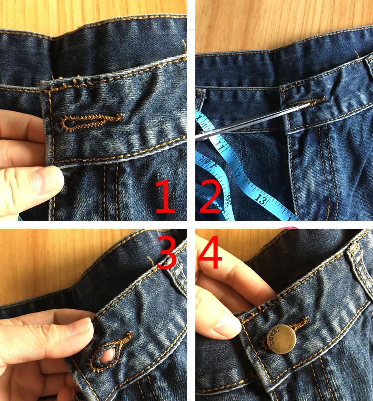 Vintage Club Denim Ripped Shorts 1