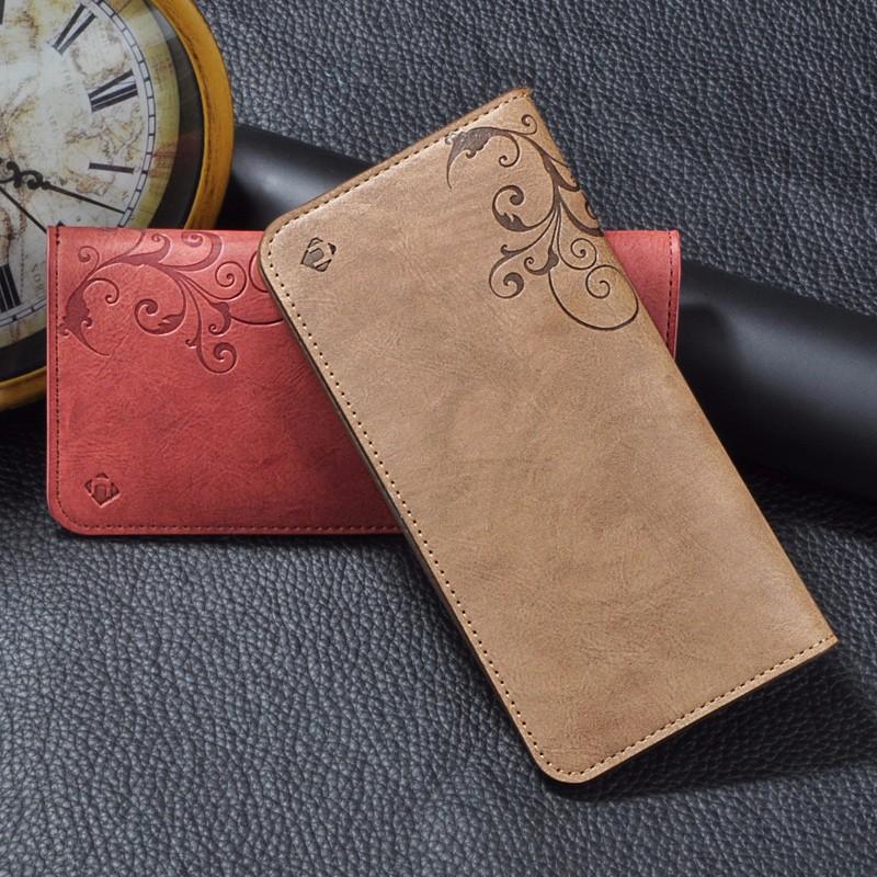5.5 Uniwersalny Vintage Odwróć Skórzany Portfel Etui Do IPhone 5 6 7 Plus dla HTC Huawei LG Sony Dla Samsung S4 S6 Krawędzi Uwaga 7 Case 16