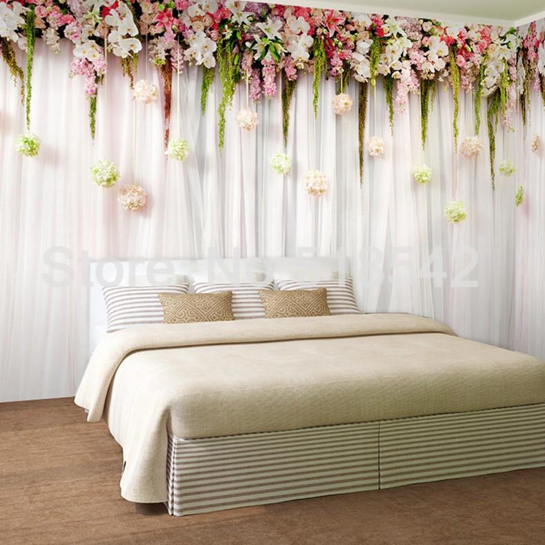Niestandardowe zdjęcia tapety stereoskopowe 3d europejskiej duszpasterska włókniny mural sypialnia salon tło wystrój domu tapety 3