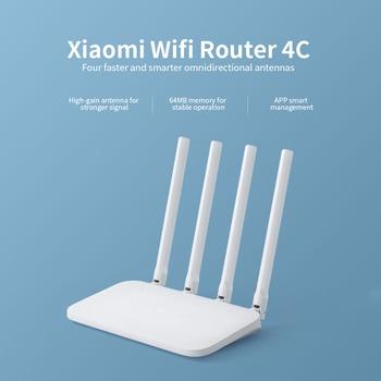 Original Mi WIFI Router 4C 64 RAM 300Mbps 2 4G 802 11 b/g/n