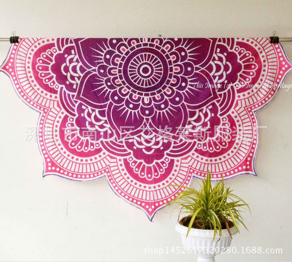 Hot summer szyfonowa wall hanging tapestry koc ręcznik plażowy duży mediter flora miękkie narzuta yoga mat obrus home decor 8
