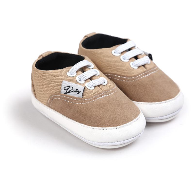 Wiosna Jesień Dziecko Noworodka Dziewczynka Chłopiec Miękkie Podeszwy antypoślizgowe Maluch Prewalker Niemowląt Sneaker Buty Na Co Dzień 26