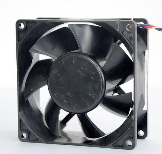 NMB 92mm*92mm*38mm 3615KL-04W-B96 12V 2.50A 9 cm four wire DC fan