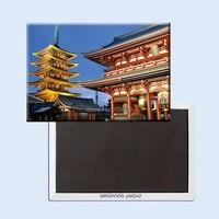 The-Asakusa-Temple-Tokyo-Japan Travel Gift,Tourist Souvenir Plate Fridge Magnets 20941