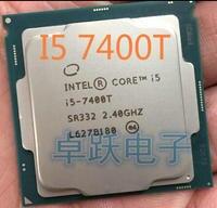 Original Intel Core I5 7400T QS Version Quad core 2,4 GHz 6MB Cache I5-7400T LGA1151 CPU prozessor freies verschiffen