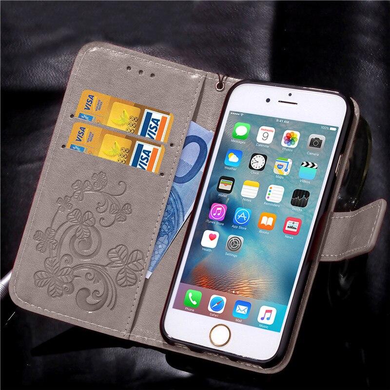 Dla iphone 7 plus 4S 5S 4 5 6 s skórzane etui z klapką case do samsung galaxy a3 a5 j3 j5 2016 j1 s6 s7 s3 s4 s5 mini grand prime pokrywa 31