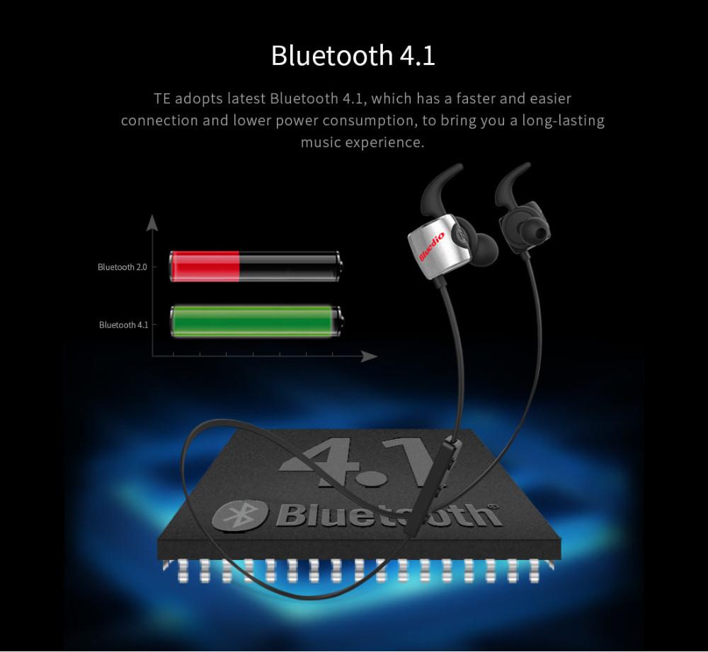 Te bluedio sport zestaw słuchawkowy bluetooth/pot dowód słuchawki bezprzewodowe słuchawki douszne earbuds wbudowany mikrofon 5