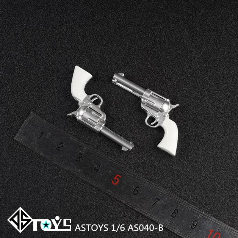 "1//6 Revolver Magnum Miniature Weapon Model M29 Toy 4D F 12/"" Action Figures Dolls"