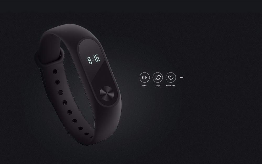 Oryginalny xiaomi mi kompania 2 inteligentne bransoletka nadgarstek fitness tracker android bransoletka smartband z pulsometr protector 2