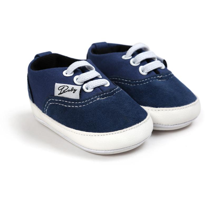 Wiosna Jesień Dziecko Noworodka Dziewczynka Chłopiec Miękkie Podeszwy antypoślizgowe Maluch Prewalker Niemowląt Sneaker Buty Na Co Dzień 14