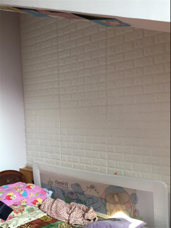 PCV 3D salon mur ceglany wzór tapety stickie dormitorium sypialnia retro wzór tapety adhesive392-F cegły 39