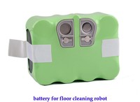 (Para a320, a325, a335, a336, a338, a338) bateria para aspirador de pó robô, dc144v, 2200mah, ni-mh, 1 produto, peças de ferramentas de limpeza