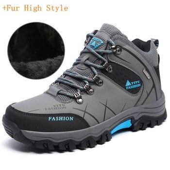 8837072cf28007 39-47 männer Stiefel Anti-schleudern Winter Schuhe Männer