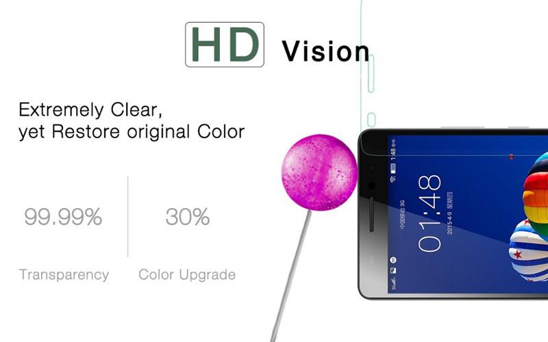 Premium 0.26mm przeciwwybuchowe szkło hartowane dla p780 lenovo a8 s60 s90 s850 a2010 a6000 k3 uwaga ekran ze szkła hartowanego Film 2