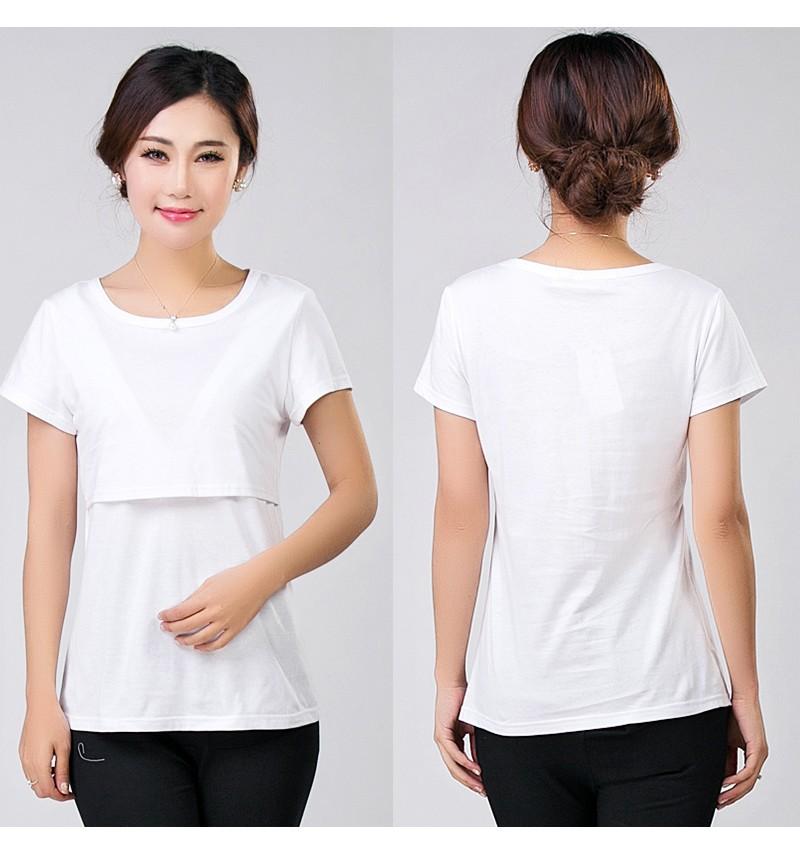 2016 lato macierzyństwo pielęgniarstwa ubrania kobiet w ciąży karmienie piersią karmienie piersią nakrywa trójniki t-shirt maxi premama nosić clothing 7