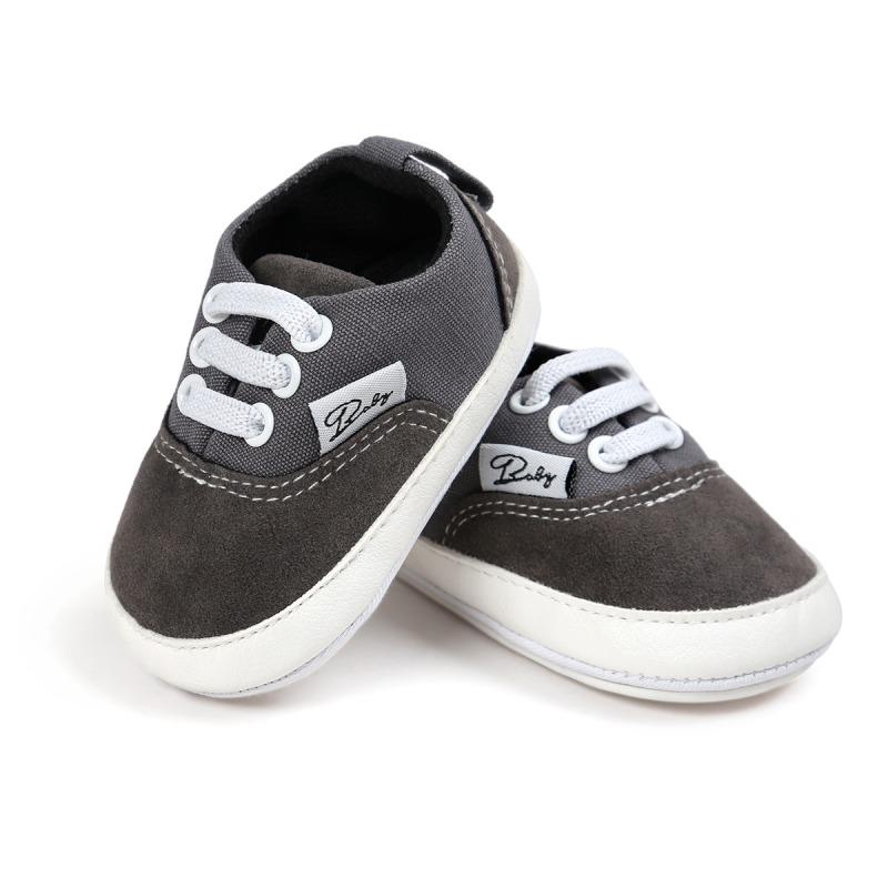 Wiosna Jesień Dziecko Noworodka Dziewczynka Chłopiec Miękkie Podeszwy antypoślizgowe Maluch Prewalker Niemowląt Sneaker Buty Na Co Dzień 24