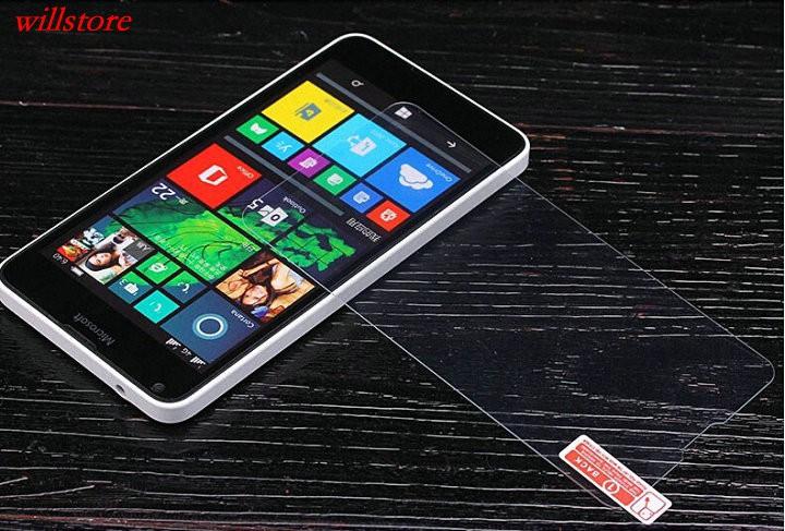 Szkło hartowane Screen Protector for Microsoft Nokia Lumia 430 435 532 540 550 640 XL 650 1020 1320 1520 950 X X2 XL SZKŁA Film 11