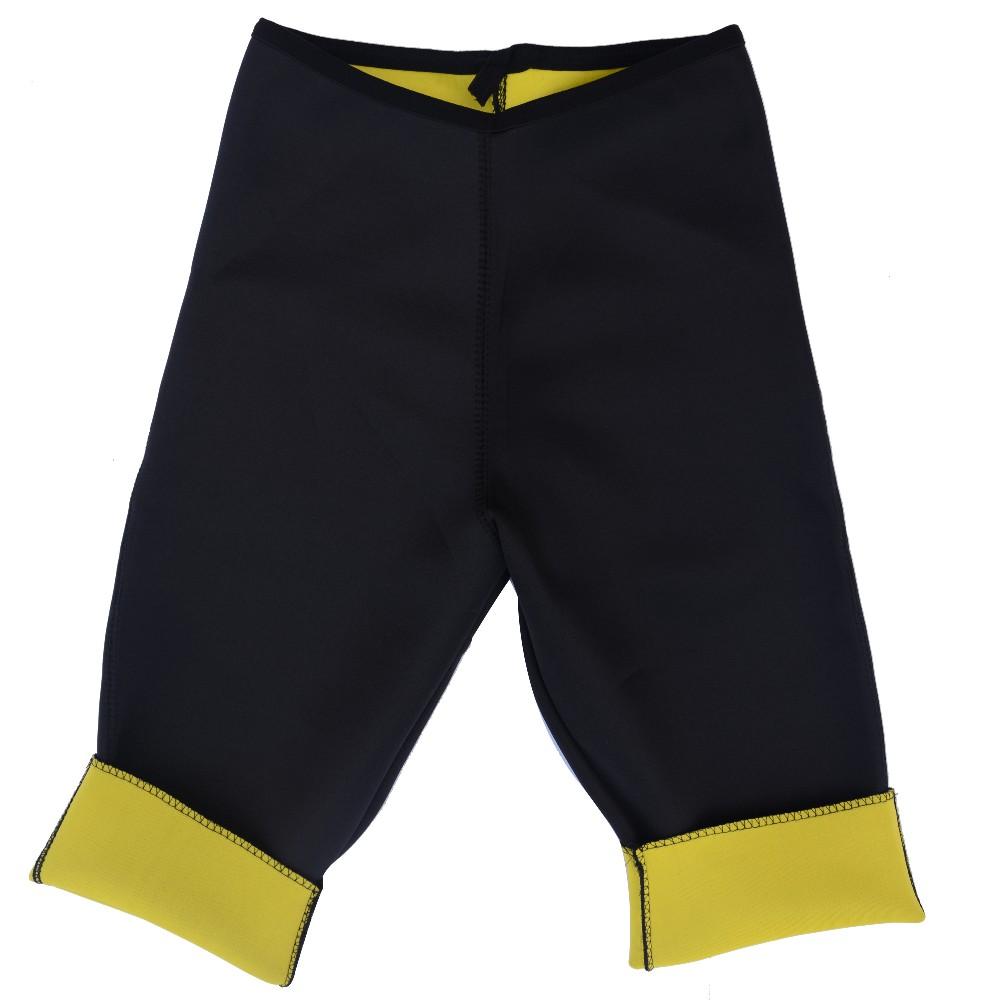 (Spodnie + Pas) hot frezarki shaper body control krótkie majtki wyszczuplające spodnie i pasy super stretch neopren bryczesy dla kobiet 7