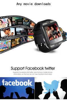 Q18 Plus Android 4 4 Smart Watch MTK6572 4G ROM 512 RAM Smartwatch