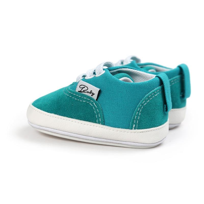 Wiosna Jesień Dziecko Noworodka Dziewczynka Chłopiec Miękkie Podeszwy antypoślizgowe Maluch Prewalker Niemowląt Sneaker Buty Na Co Dzień 20