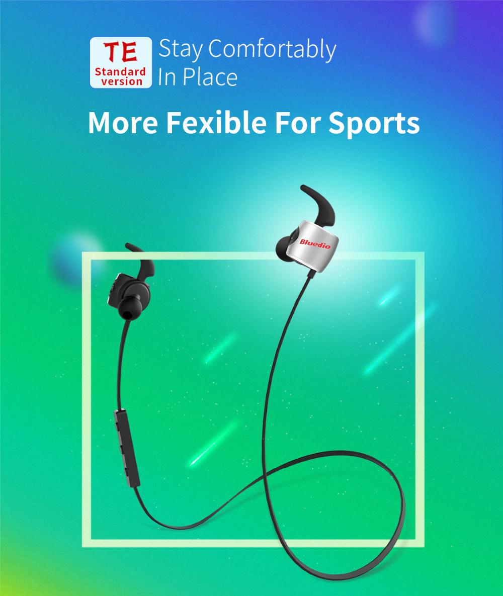 Te bluedio sport zestaw słuchawkowy bluetooth/pot dowód słuchawki bezprzewodowe słuchawki douszne earbuds wbudowany mikrofon 1