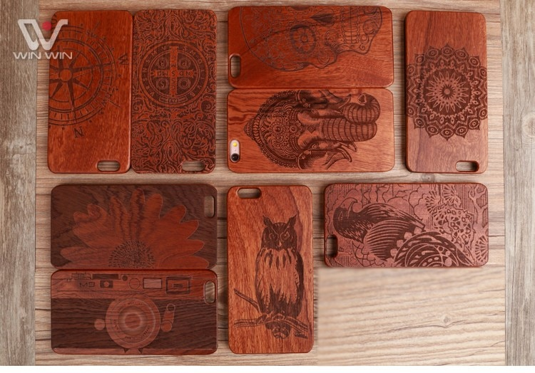U & i marka cienki luksusowe natural wood telefon case for iphone 5 5s 6 6 s 6 plus 6 s plus 7 7 plus pokrywa drewniane wysokiej jakości, odporna na wstrząsy 5