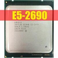 Intel Xeon Prozessor E5 2690 E5-2690 Acht Core 2,9G SROL0 C2 LGA2011 CPU 100% arbeits richtig PC Server Desktop prozessor