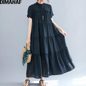 c8c0cec483528 Plus Size Women Dress Big Size Female Vestido Summer Sundress Loose