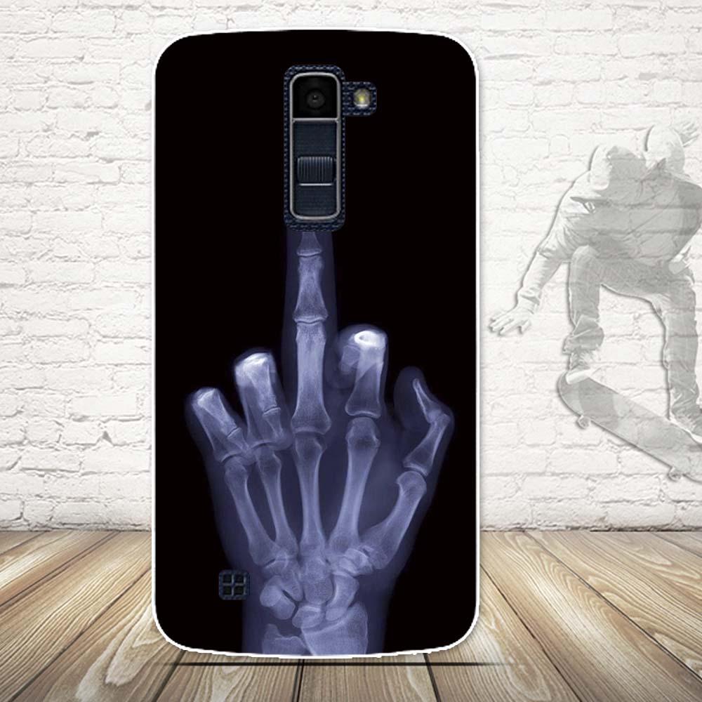 Luksusowe 3d farba miękka tpu powrót telefon pokrywa case do lg k10 lte k 10 m2 k410 k420n k430ds f670 podwójny case powrót silikon pokrywa torby 16