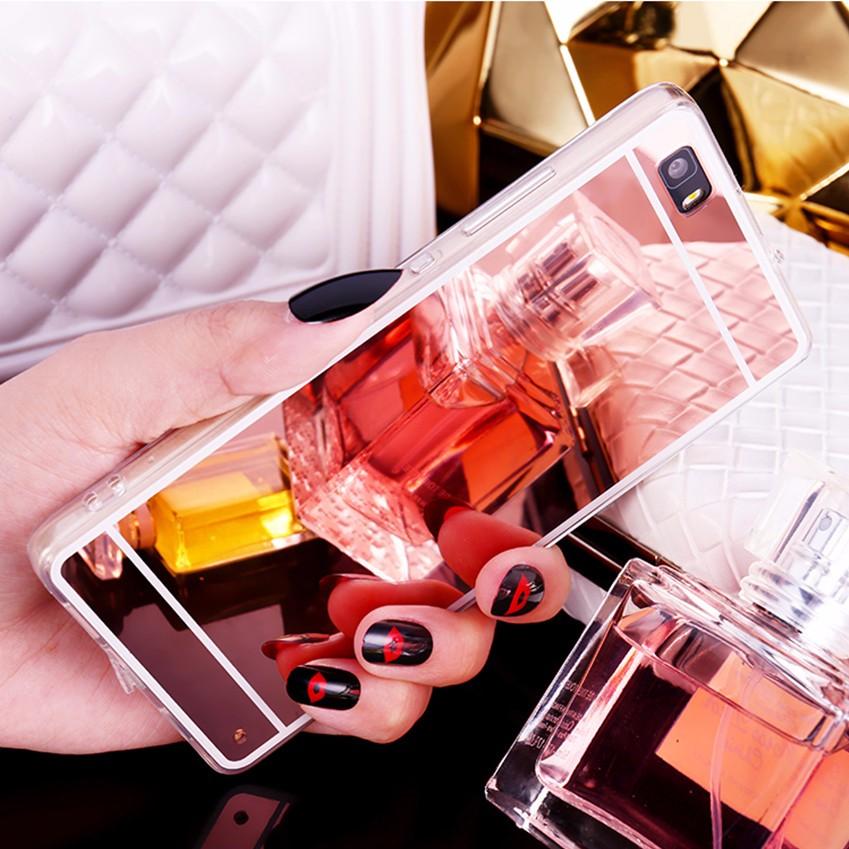 Hot! luksus lustro galwanizacja miękkie przezroczysty tpu case pokrywa dla huawei p8/p8 lite p9 p9 plus p9 lite g9 10