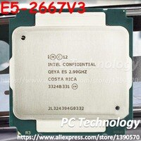 Original Intel Xeon ES Version E5-2667V3 QEYA E5 2667 V3 CPU 2,90 GHz 8-Core 35M E5 2667V3 LGA2011-3 prozessor E5-2667 V3