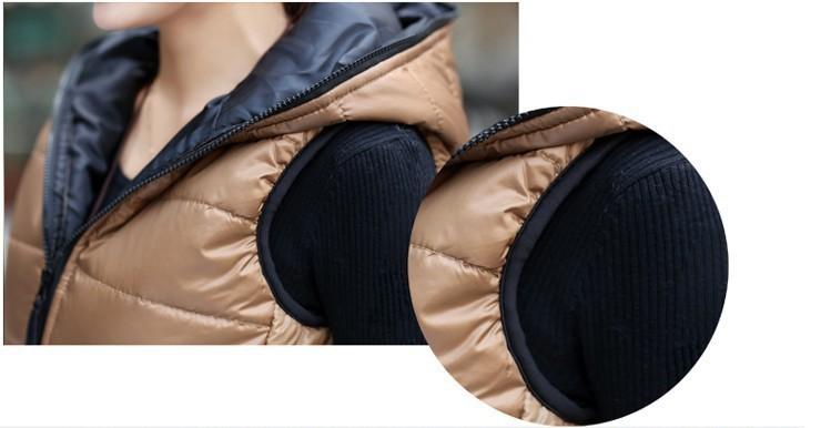 Wiosna 2017 Moda Pogrubienie Odzieży Wierzchniej Wzory Casual Cotton Kobiety Kamizelka Z Kapturem Ciepła Kurtka Kamizelka Motocyklowe 12