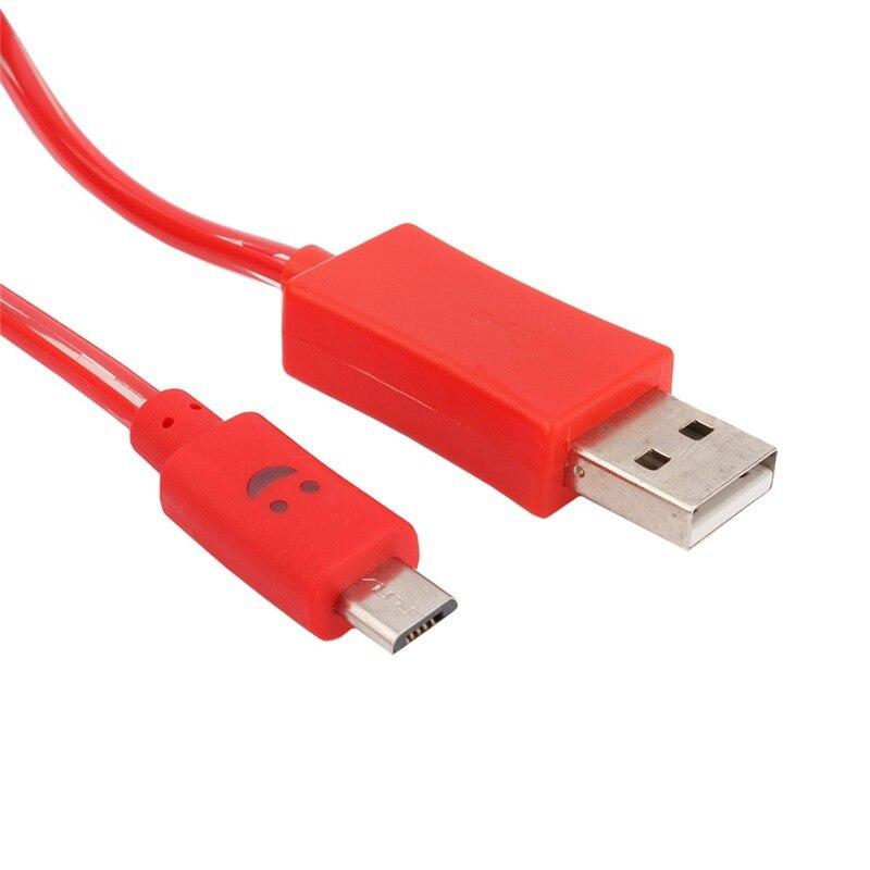 1 m światła led micro usb cable ładowarka przewód synchronizacji danych dla samsung htc xiaomi hauwei meizu telefon android tablet kable usb do ładowania 2