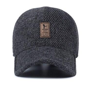0899bdb8e8d 2017 brand baseball cap winter dad hat warm Thickened cotton—Free Shipping