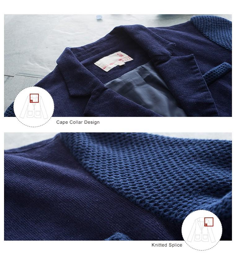 Toyouth kobiet jeden przycisk marynarka krótki projekt bawełny z długim rękawem szczupła marynarka kolor bloku patchwork kobiety blazers 9