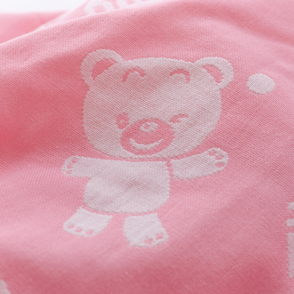 Dziecko bath towel gazy bawełnianej muślinu dziecko towel newborn cotton towel towel absorbingtowels miękkie myjka kreskówki dla dzieci 110*110 cm 18