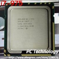 Original Intel Core Prozessor Extreme Edition i7 975 3,30 GHZ 4-Kerne 8 M Cache LGA1366 CPU 130 W freies verschiffen i7-975