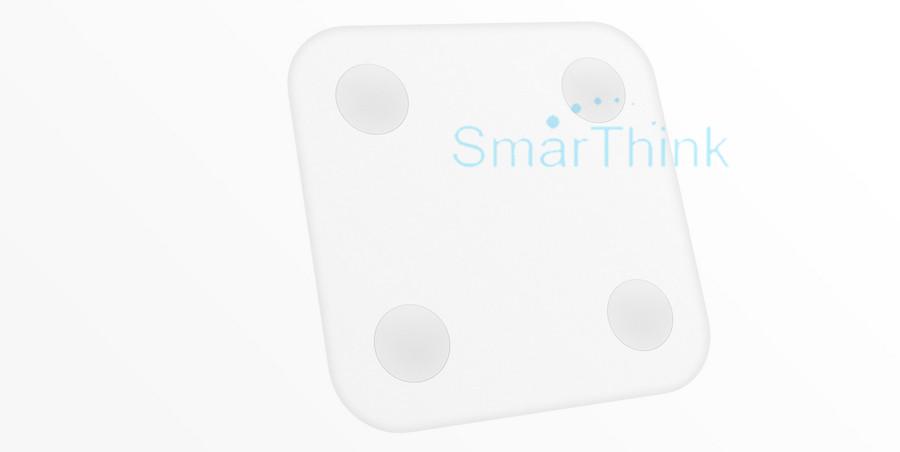 Nowy Oryginalny Xiaomi Mi Inteligentne Skala Tkanki Tłuszczowej Z Mifit APP i Składu ciała Monitor Z Ukrytym Wyświetlacz LED I Duże Stopy Pad 7