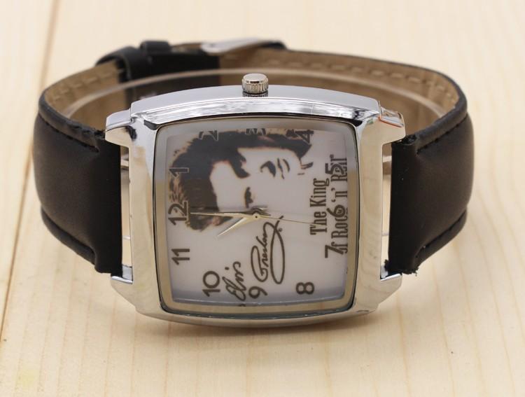 2017 w nowym stylu Mody Chłopcy i dziewczęta Elvis Presley pasek zegarka zegarek prezent 2